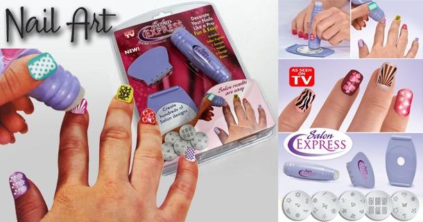 Штампы для ногтей в домашних условиях 319